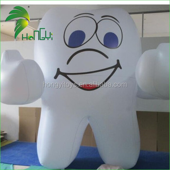 Tooth Shape Inflatable balloon , Tooth Balloon