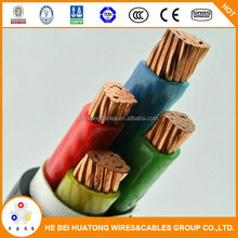 PVC insulated electric cables types