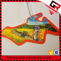 China factory cheap absorbent car fragrance air car freshener card