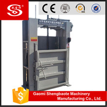 Hydraulic pressure manual cotton bale press machine for textile mills
