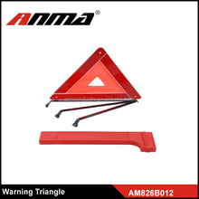 Red Plastic Highway Safety Warning Triangles