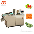 Multifunction Electric Yam Spinach Chopper Cutting Pumpkin Chips French Fry Cutter Conveyor Leafy Vegetable Cutter Machine