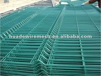 Security welded wire mesh fence/nylon for welded wire mesh fence