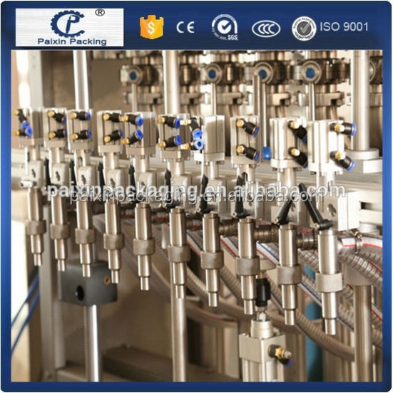 No foam easy operation automatic body lotion packing machine with manufactory price