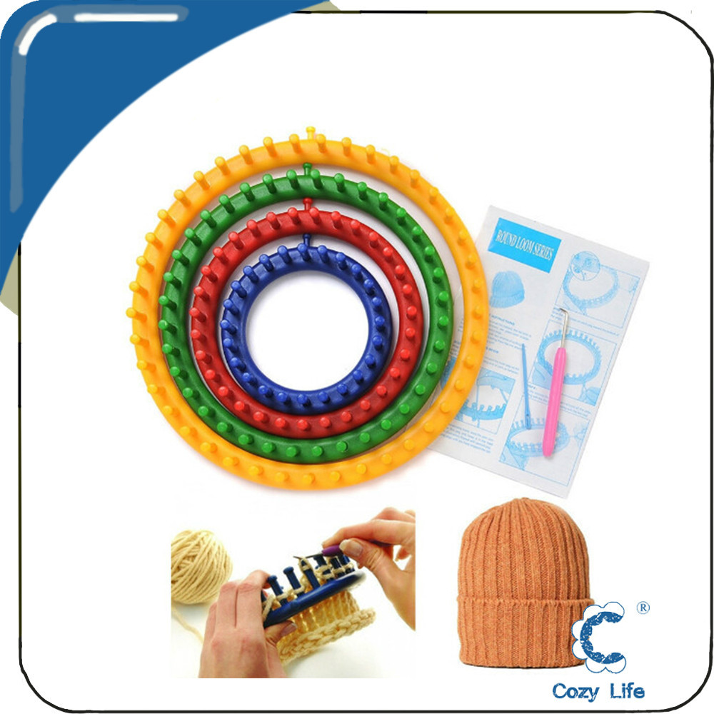 Knitting Machine Diy : Hot selling diy knitting machine for scarf bag