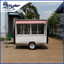 JX-FR280WH Shanghai Jiexian Commercial Outdoor hamburger Cart Outdoor Food Cart
