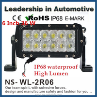 LED Light Bar 6 inch 36Watt,LED Work Lamp Light, Off Road, Atv, Utv