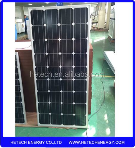 solar cells wholesale Best Price Mono 130W kyocera solar panel