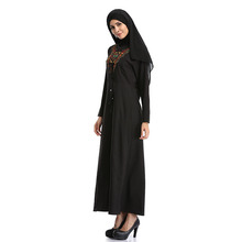 2017 Latest Abaya Black Designs Dubai Picture Muslim Prayer Dress for sale 2w-9