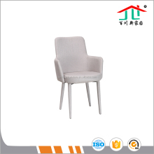 New design fabric dining chair with armrest Baichuan furniture