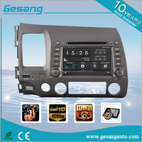 In Dash car stereo navigation car multimedia DVD Player for HONDA CIVIC( left hand drive)