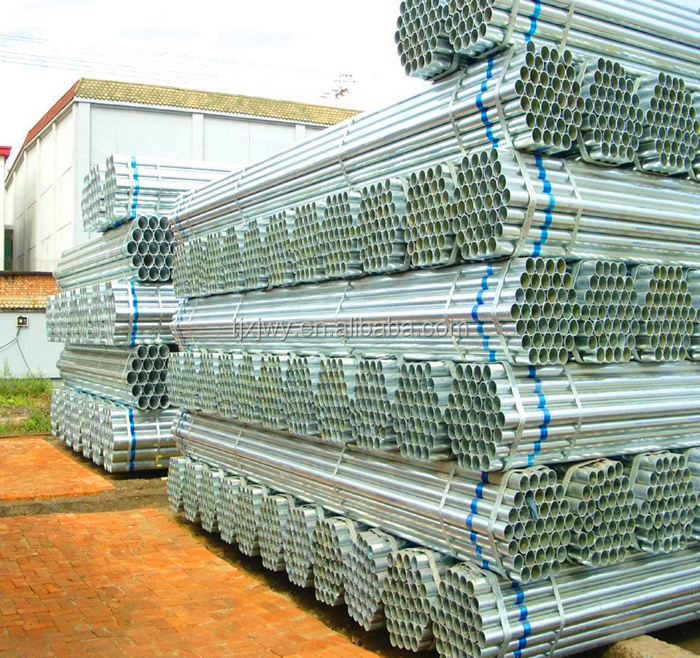 Class 4 metal tube bs4568, hot dip galvanized steel pipe with low price