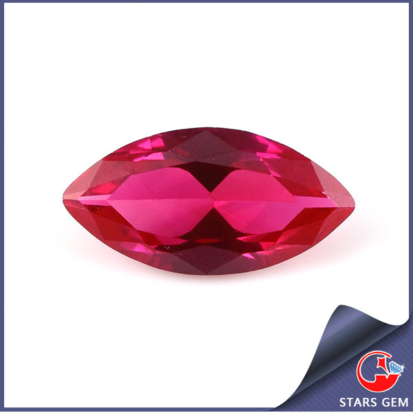 Marquise Cut 4*8mm Loose Blood Red Ruby