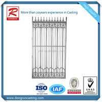 New design & style decorative aluminum fence,aluminum rails fence for Garden and Home