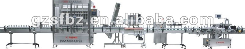 500ml 12 nozzles Automatic liquid filling machine packing line
