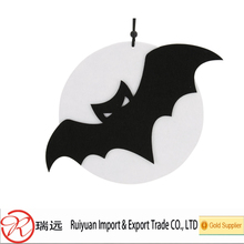 China wholesale bat shape felt halloween hanging ornament for indoor decoration