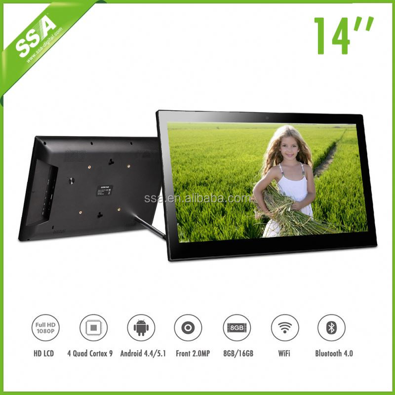 Newest Cheap 14 inch VIA8880 Dual Core Android Laptop With 2 Standard USB RJ45 Bluetooth 1G/8G