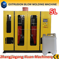 5 liter bottle hdpe blow molding machine, plastic extrusion machinery