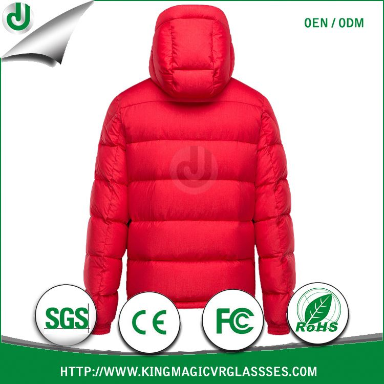 Factory Price and Promoting Sale JUNJIE first down jacket and parka