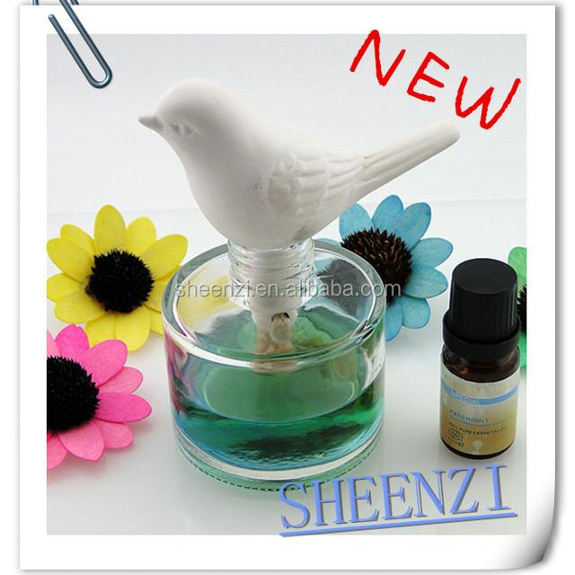 bird aroma stone Ceramic Clay Bird For Fragrance/aroma Oil Diffuser