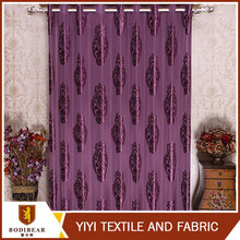 China wholesale Ready made Jacquard Royal style office window curtain
