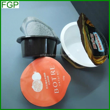 China factory price for food safe hot coffee K cup capsules sealing foil with high quality for sale