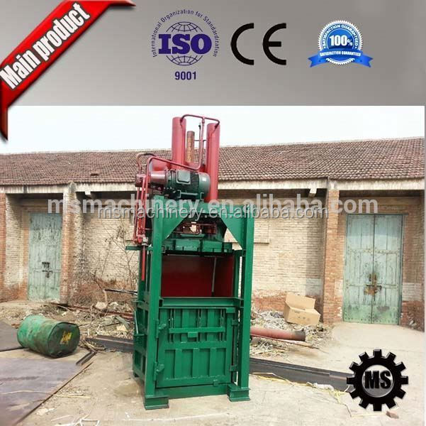 straw bale press machine hay compress hydraulic baler