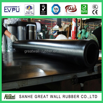 High tensile strength good quality Resistant Oil NBR Rubber Sheet