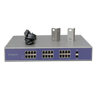 Stock unmanaged 24 port poe switch for poe wireless router