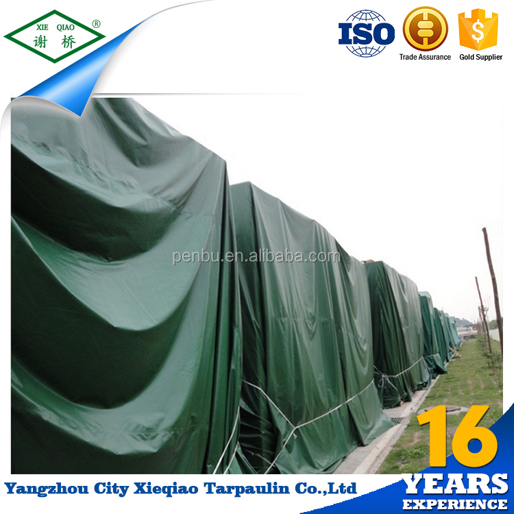 Pvc coated/laminated polyester woven fabric waterproof plastic tarpaulin covers