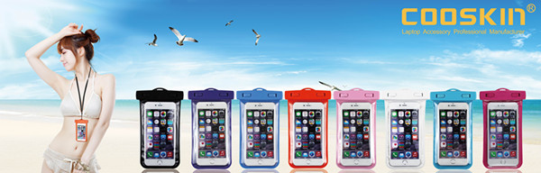 2017 Newest design PVC waterproof phone bag,waterproof mobile bag,waterproof pouch for iPhone for Huawei p9 Lite Waterproof Case