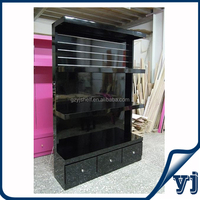 Morden China factory wooden display shelves, Clothes shop display cabinet