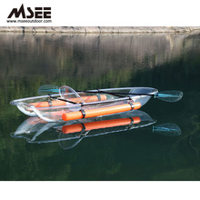 The Polycarbonate Glass Kayak Transparent Kayak With Two Seat Free Transparent Kayak Paddle