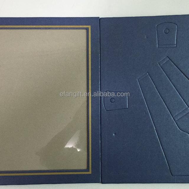 A4 paper diploma frame/ diploma holder