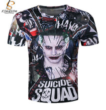 Walson Suicide Squad Movie Harley Quinn Tee Shorts Cosplay Daddy's Lil Monster T Shirt