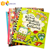 Fashion Design Kids drawing book & coloring filling book
