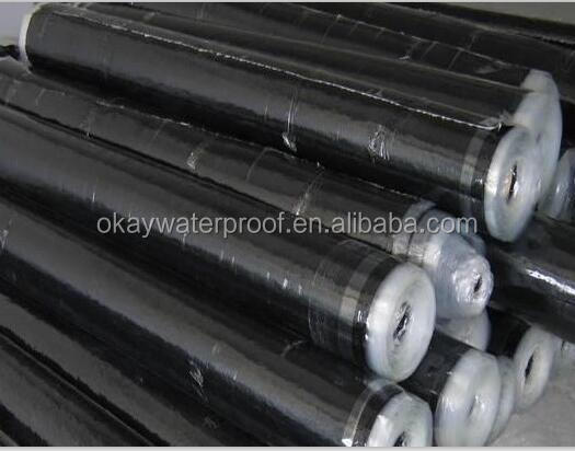 1.6mm HDPE self-adhesive bitumen waterproof membrane in Thailand market