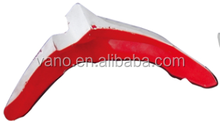 motorcycle spare parts red & white motorcycle front rear fender