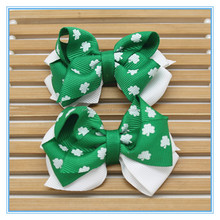 Girls St. Patrick's Day Hair Bow