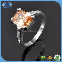 Unique Style CZ Stone Ring Hong Kong Jewelry Wholesale