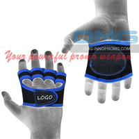 Private Labelled HIGH QUALITY WeightLifting Gloves Gym Fitness Sports Training Workout Glove Yoga Crossfit WOD Leather Hand Grip