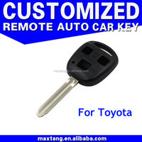 New 3 Button Key Case Fob Remote Key Shell Fob Car Key Case Smart Key Housing for TOYOTA Yaris Avensis
