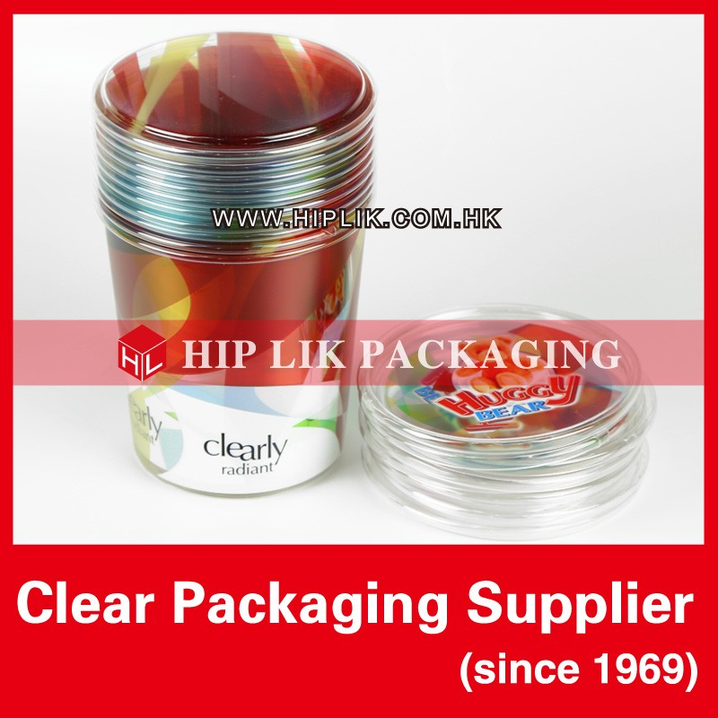 Plastic Round Package Tube Package