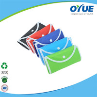 Eco friendly folding supermarket shopping bags
