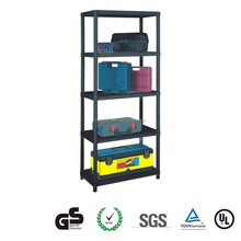 Good quality GD3180 plastic shelf dividers 5 layers warehouse storage rack goods shelf
