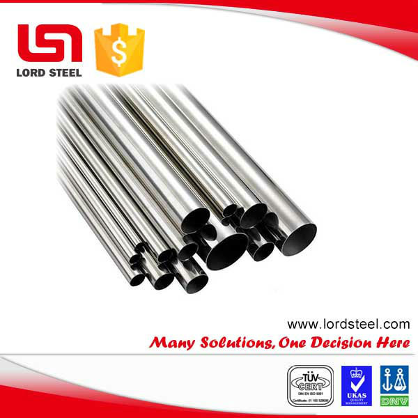 Beveled Ends seamless stainless steel heat exchanger pipe in steel