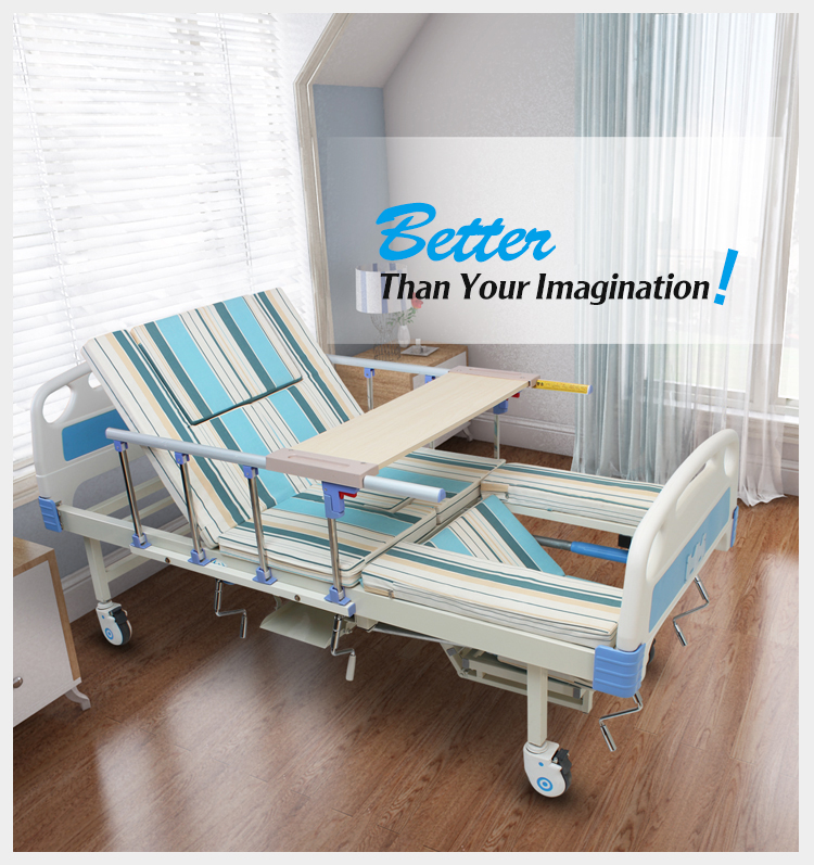 Hospital furniture handicapped rehabilitation home caring bed for adults