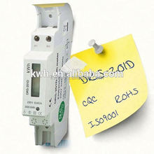Single phase Din rail portable power electric power monitor