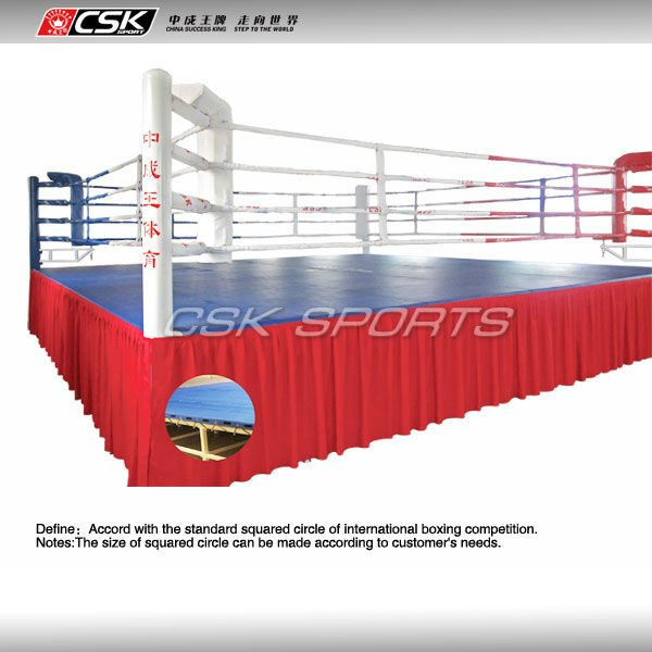 GX9821 CSK Standard 7.8m*7.8m*1m Pro Competition Boxing Ring