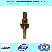 China Supply Professional Manufacturer Expansible Brass Insert Pipe